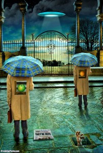 Be PreparedSurreal-Umbrella-People-Aliens--71917